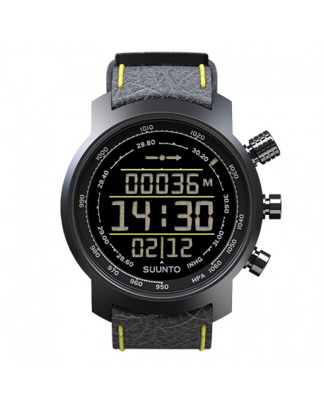 SUUNTO ELEMENTUM TERRA BLACK/YELLOW LEATHER